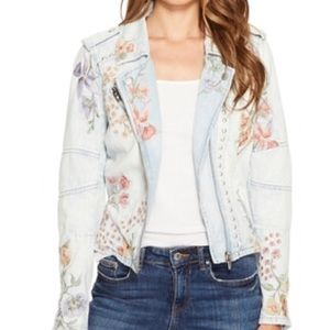 Blank NYC Jackets & Coats - Blank NYC studded/embroidered denim jacket
